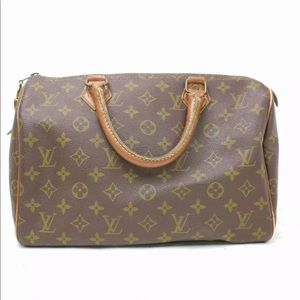 Authentic Louis Vuitton vintage speedy 30 handbag